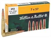 SELLIER & BELLOT Ammunition 7X57 SPCE 173 GR